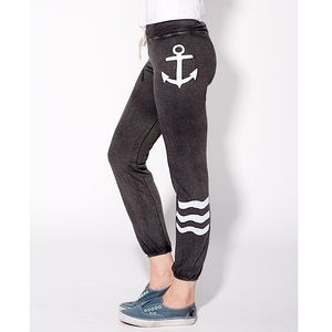 SUNDRY Gray Anchor Classic Sweatpants Joggers
